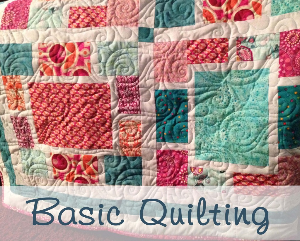 Examples of basic quilting