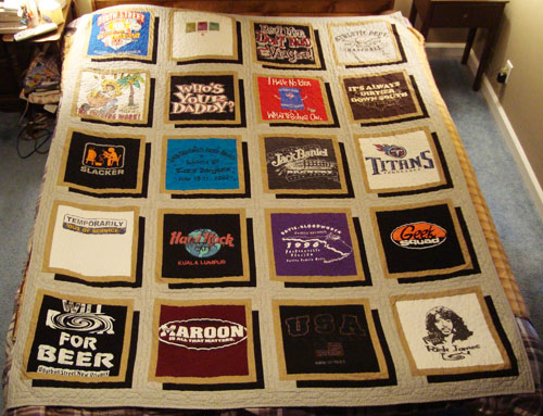 T Shirt Or Signature Quilts Busy Needle Quilting