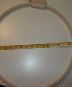 Wood hoop diameter