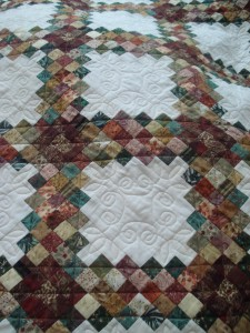 quilting, Triple Irish Chain