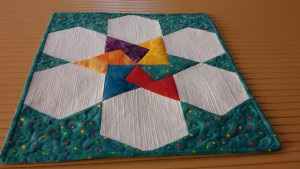 BNQ's Spinning Card Trick Star matchstick quilting