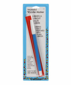 Water erasable pen blue